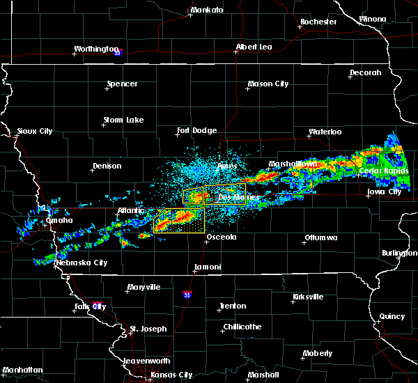 Radar Image for Severe Thunderstorms near Clive, IA at 6/3/2020 4:52 AM CDT