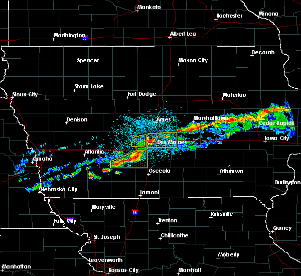Radar Image for Severe Thunderstorms near Clive, IA at 6/3/2020 4:58 AM CDT