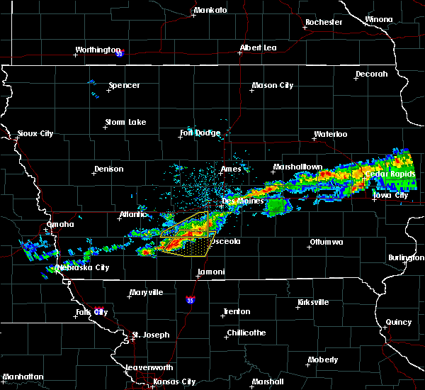 Radar Image for Severe Thunderstorms near Lorimor, IA at 6/3/2020 5:32 AM CDT