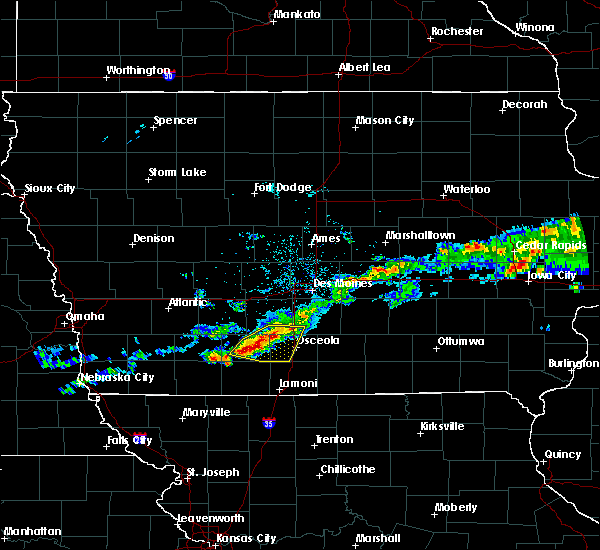 Radar Image for Severe Thunderstorms near Lorimor, IA at 6/3/2020 5:45 AM CDT