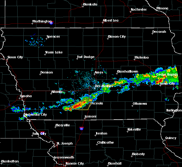 Radar Image for Severe Thunderstorms near Lorimor, IA at 6/3/2020 5:58 AM CDT