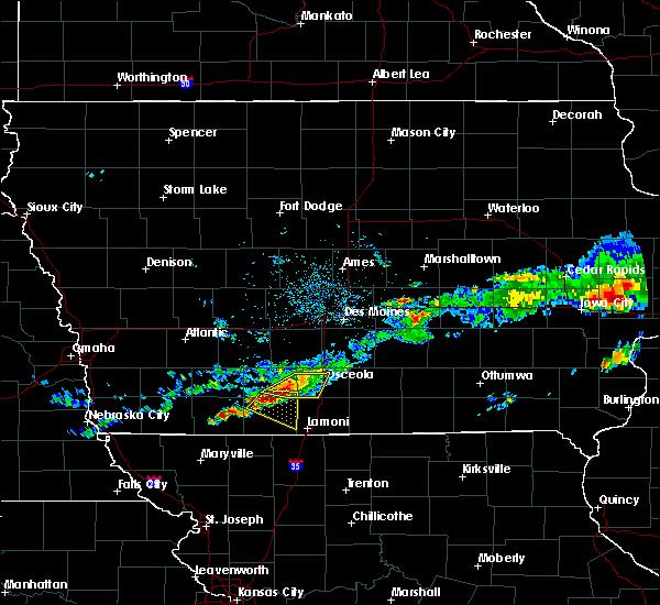 Radar Image for Severe Thunderstorms near Osceola, IA at 6/3/2020 6:10 AM CDT