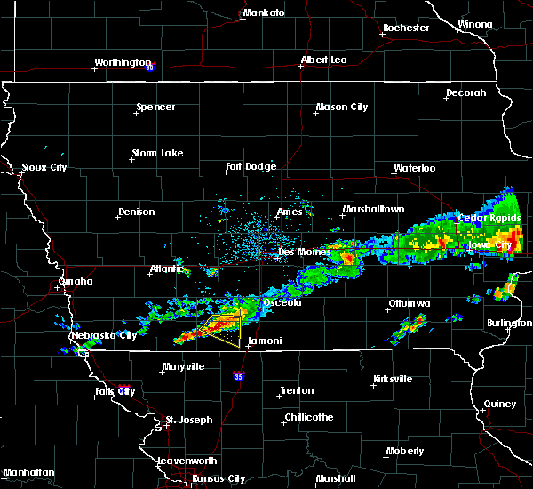 Radar Image for Severe Thunderstorms near Mount Ayr, IA at 6/3/2020 6:29 AM CDT