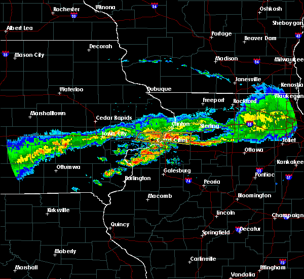 Radar Image for Severe Thunderstorms near Rapids City, IL at 6/3/2020 7:09 AM CDT