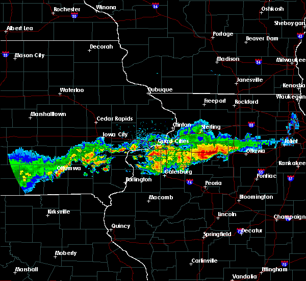 Radar Image for Severe Thunderstorms near Hennepin, IL at 6/3/2020 8:15 AM CDT