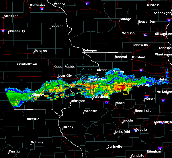 Radar Image for Severe Thunderstorms near Hennepin, IL at 6/3/2020 8:28 AM CDT