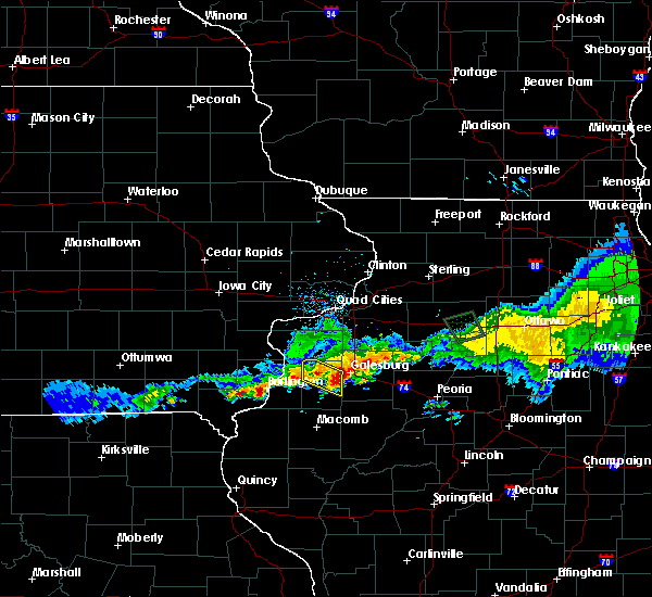 Radar Image for Severe Thunderstorms near Yates City, IL at 6/3/2020 10:04 AM CDT