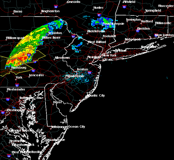 Radar Image for Severe Thunderstorms near Bechtelsville, PA at 6/3/2020 11:07 AM EDT