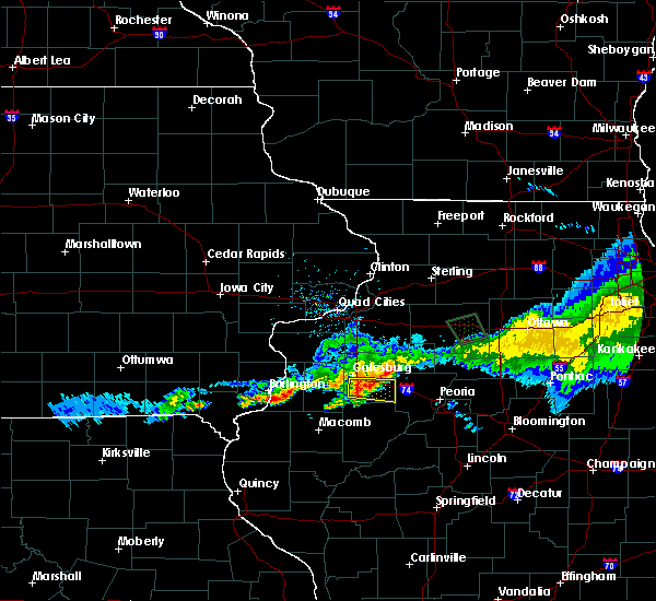 Radar Image for Severe Thunderstorms near Yates City, IL at 6/3/2020 10:17 AM CDT