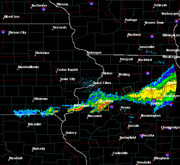 Radar Image for Severe Thunderstorms near Yates City, IL at 6/3/2020 10:25 AM CDT