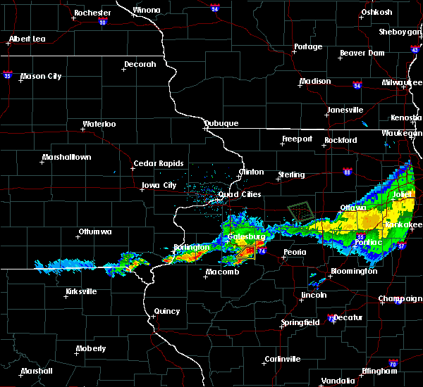 Radar Image for Severe Thunderstorms near Yates City, IL at 6/3/2020 10:34 AM CDT