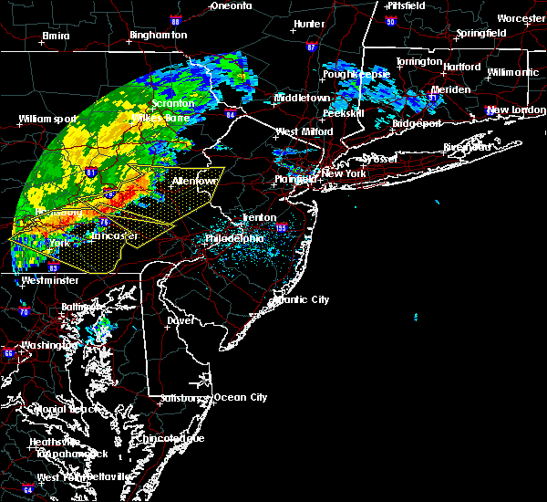 Radar Image for Severe Thunderstorms near Bechtelsville, PA at 6/3/2020 11:41 AM EDT