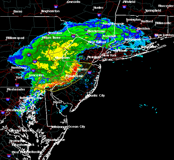 Radar Image for Severe Thunderstorms near Heathcote, NJ at 6/3/2020 12:38 PM EDT