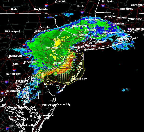 Radar Image for Severe Thunderstorms near Hightstown, NJ at 6/3/2020 12:57 PM EDT