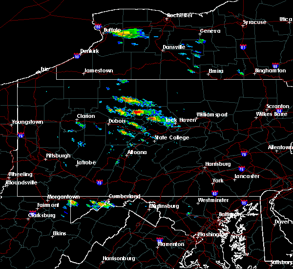 Radar Image for Severe Thunderstorms near Howard, PA at 6/3/2020 3:24 PM EDT