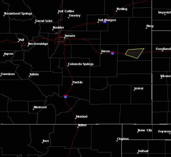 Radar Image for Severe Thunderstorms near Pueblo West, CO at 6/3/2020 1:50 PM MDT
