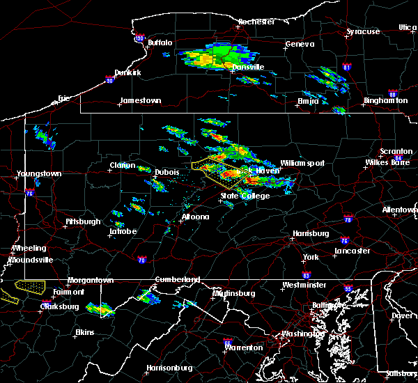 Radar Image for Severe Thunderstorms near Blanchard, PA at 6/3/2020 4:09 PM EDT
