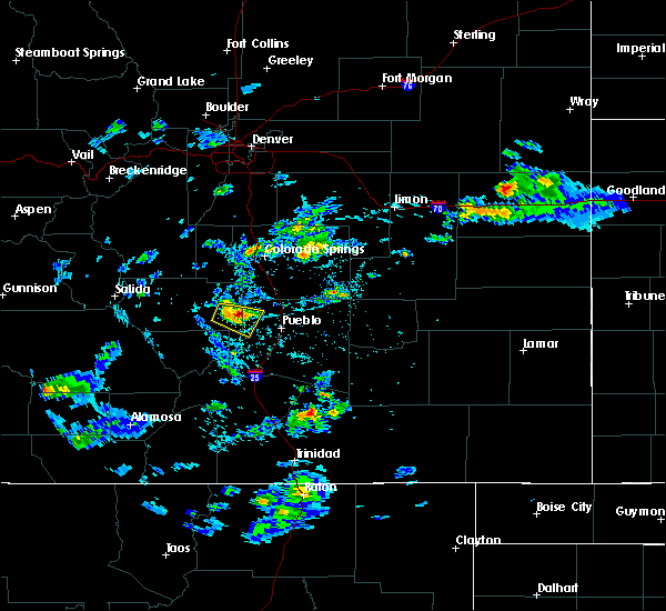 Radar Image for Severe Thunderstorms near Pueblo West, CO at 6/3/2020 2:10 PM MDT
