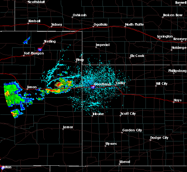 Radar Image for Severe Thunderstorms near Stratton, CO at 6/3/2020 2:13 PM MDT