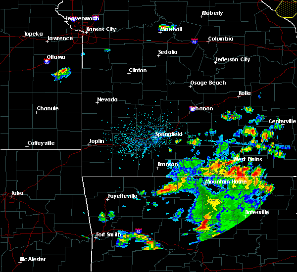 Radar Image for Severe Thunderstorms near Brandsville, MO at 6/3/2020 3:46 PM CDT