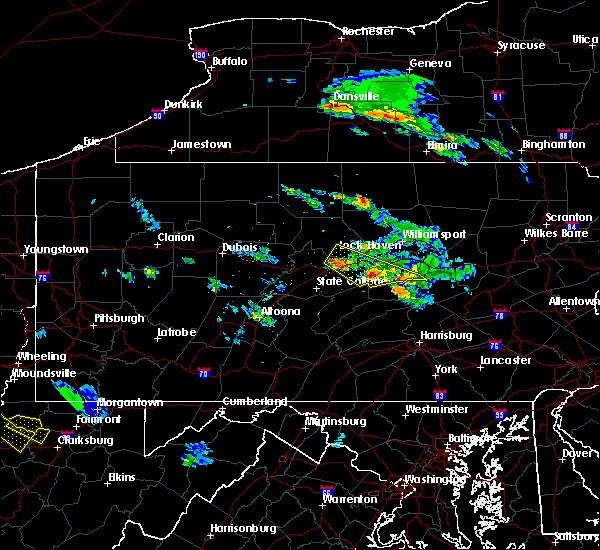 Radar Image for Severe Thunderstorms near Newtown, PA at 6/3/2020 4:46 PM EDT