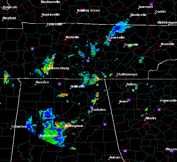 Radar Image for Severe Thunderstorms near New Hope, TN at 6/3/2020 3:57 PM CDT