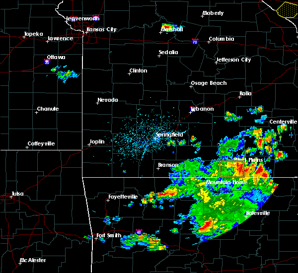 Radar Image for Severe Thunderstorms near Brandsville, MO at 6/3/2020 4:06 PM CDT