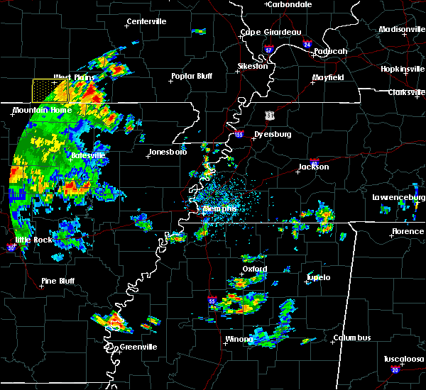 Radar Image for Severe Thunderstorms near Alton, MO at 6/3/2020 4:08 PM CDT