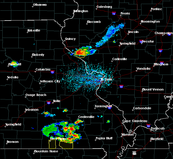 Radar Image for Severe Thunderstorms near Clarksville, MO at 6/3/2020 4:17 PM CDT