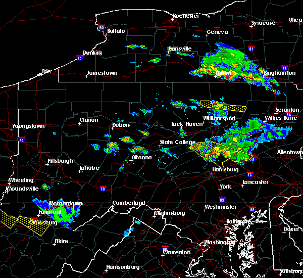Radar Image for Severe Thunderstorms near Port Trevorton, PA at 6/3/2020 5:29 PM EDT
