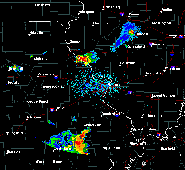 Radar Image for Severe Thunderstorms near Ellington, MO at 6/3/2020 4:49 PM CDT