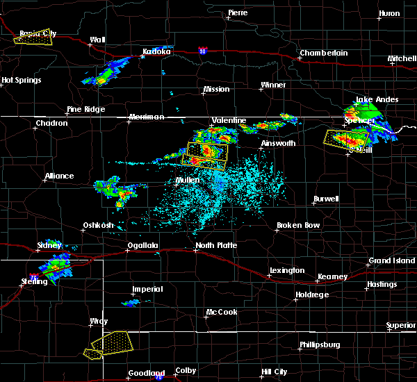 Radar Image for Severe Thunderstorms near Brownlee, NE at 6/3/2020 4:52 PM CDT