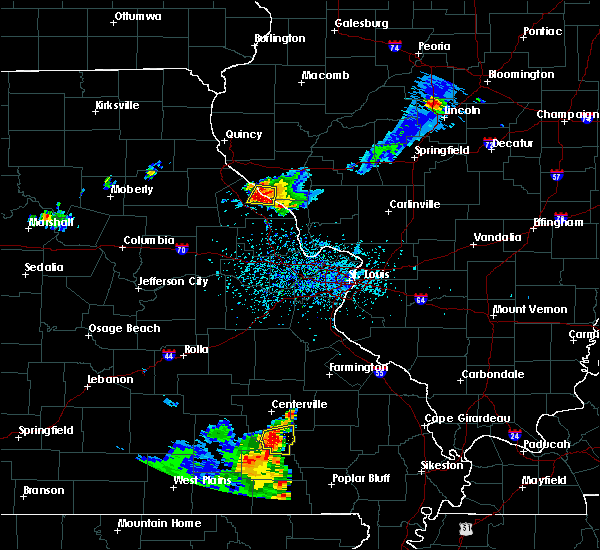 Radar Image for Severe Thunderstorms near Clarksville, MO at 6/3/2020 4:59 PM CDT