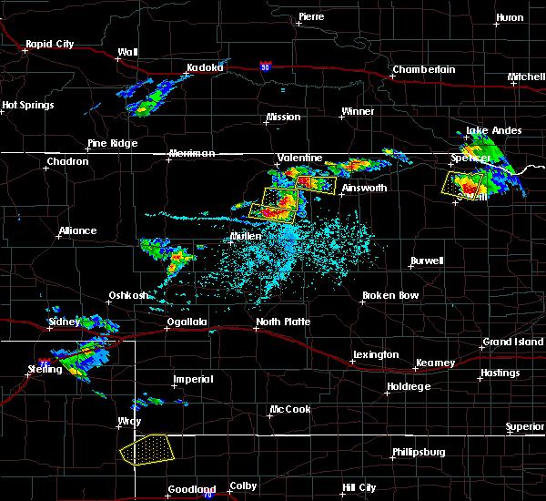 Radar Image for Severe Thunderstorms near Wood Lake, NE at 6/3/2020 5:00 PM CDT