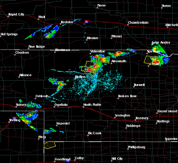 Radar Image for Severe Thunderstorms near Brownlee, NE at 6/3/2020 5:05 PM CDT