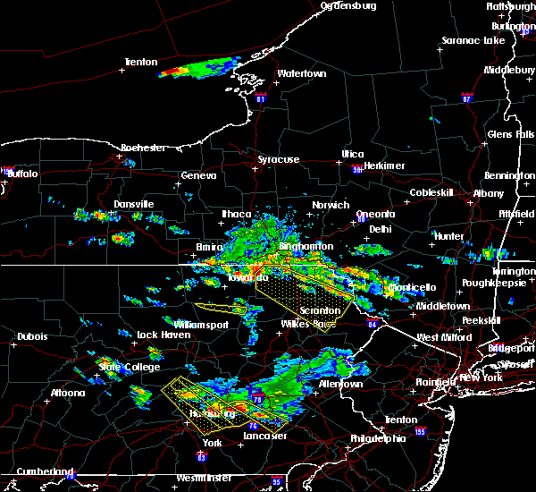 Radar Image for Severe Thunderstorms near Wallenpaupack Lake Estates, PA at 6/3/2020 6:07 PM EDT