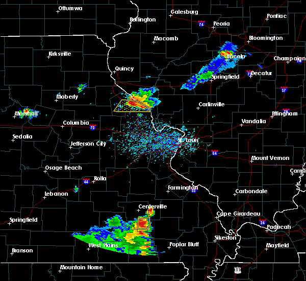Radar Image for Severe Thunderstorms near Ellington, MO at 6/3/2020 5:11 PM CDT