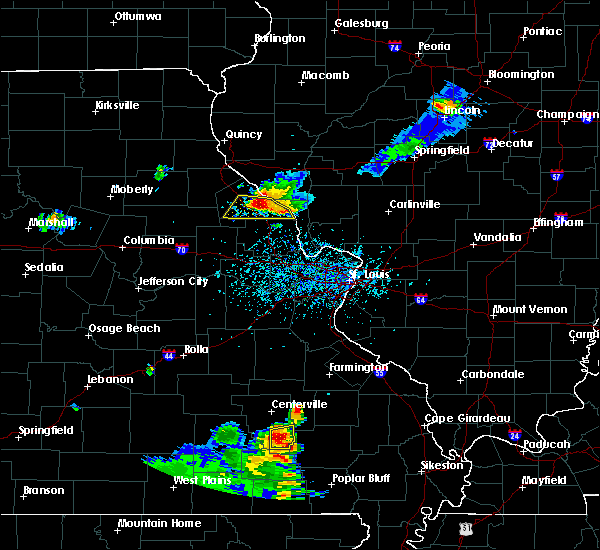 Radar Image for Severe Thunderstorms near Ellington, MO at 6/3/2020 5:18 PM CDT