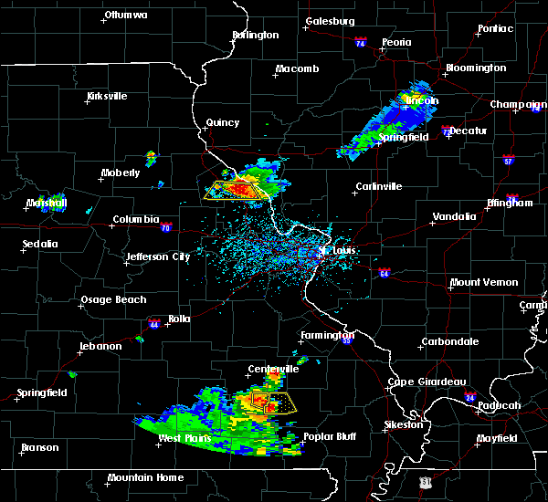 Radar Image for Severe Thunderstorms near Clarksville, MO at 6/3/2020 5:28 PM CDT