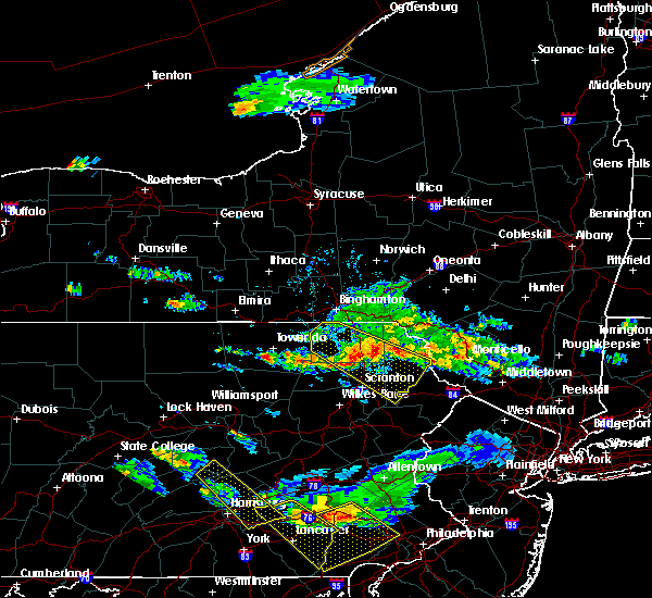 Radar Image for Severe Thunderstorms near Wallenpaupack Lake Estates, PA at 6/3/2020 6:33 PM EDT
