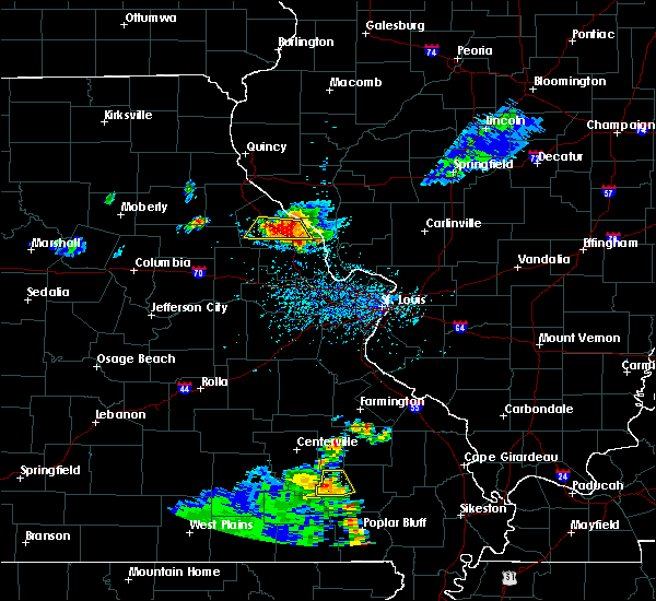 Radar Image for Severe Thunderstorms near Troy, MO at 6/3/2020 5:38 PM CDT