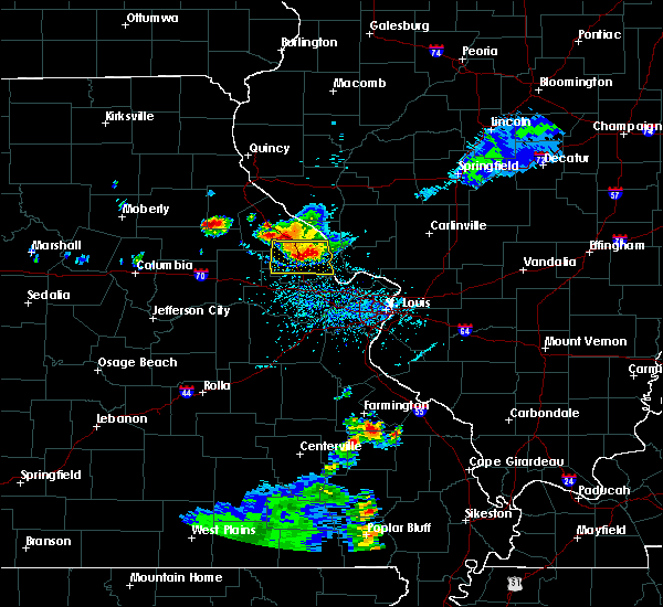 Radar Image for Severe Thunderstorms near Farber, MO at 6/3/2020 5:56 PM CDT
