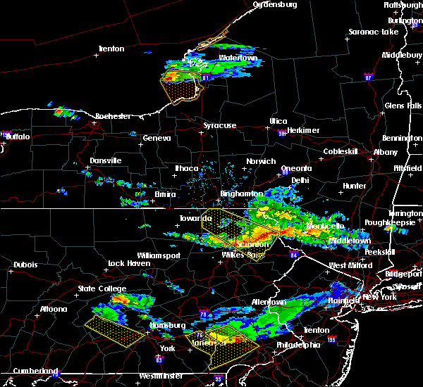Radar Image for Severe Thunderstorms near Taylor, PA at 6/3/2020 6:57 PM EDT