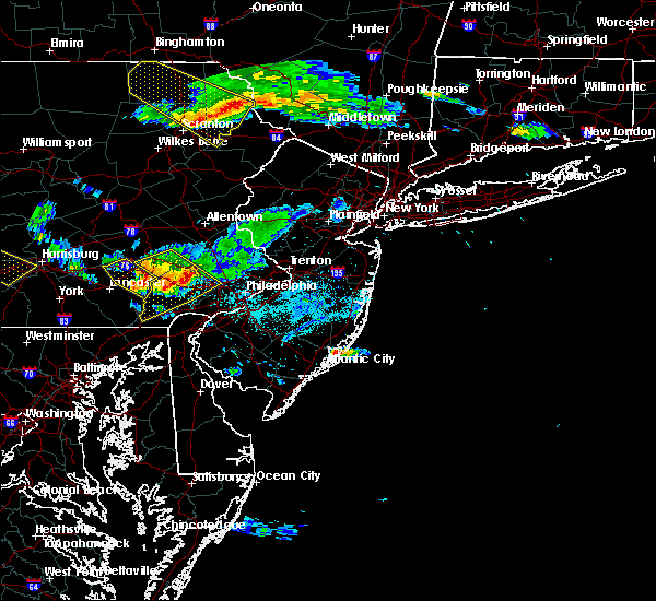 Radar Image for Severe Thunderstorms near Halfway House, PA at 6/3/2020 6:57 PM EDT