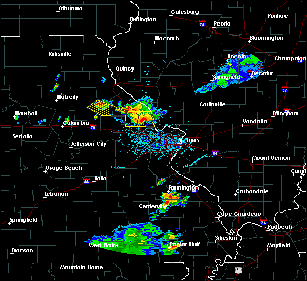 Radar Image for Severe Thunderstorms near Troy, MO at 6/3/2020 6:04 PM CDT
