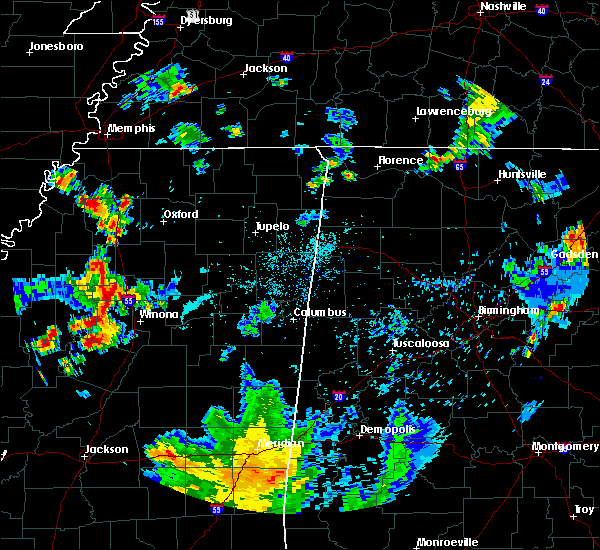 Radar Image for Severe Thunderstorms near Carrollton, MS at 6/3/2020 6:06 PM CDT
