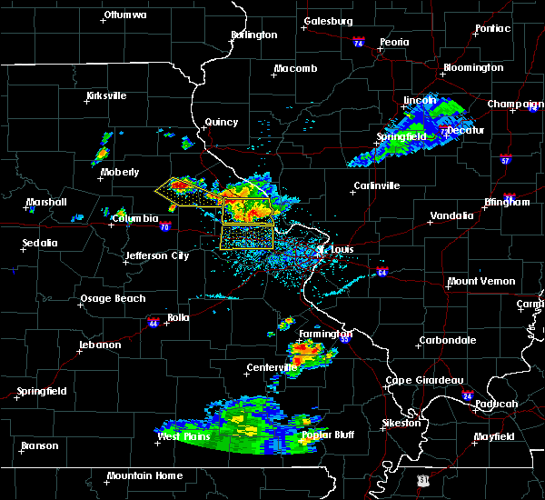 Radar Image for Severe Thunderstorms near Farber, MO at 6/3/2020 6:10 PM CDT