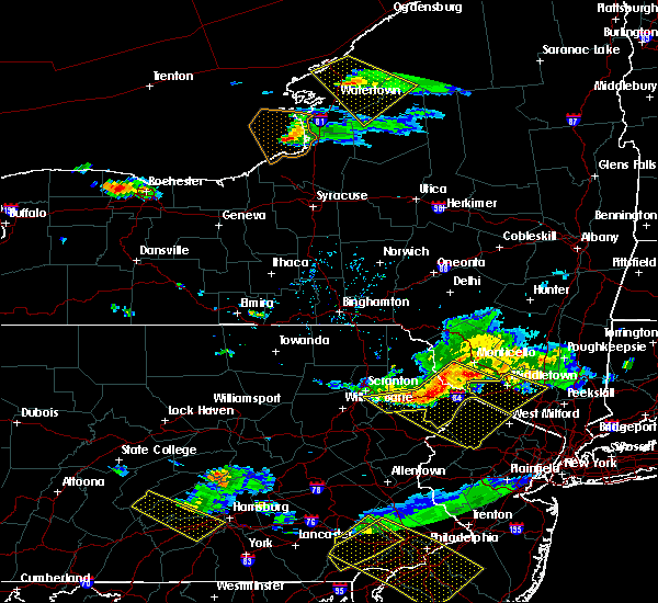 Radar Image for Severe Thunderstorms near Wallenpaupack Lake Estates, PA at 6/3/2020 7:18 PM EDT