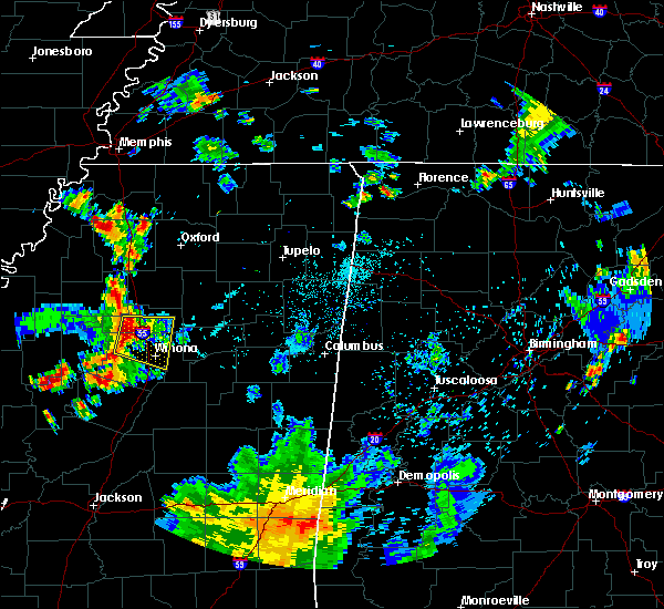 Radar Image for Severe Thunderstorms near Carrollton, MS at 6/3/2020 6:20 PM CDT