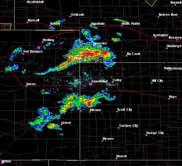 Radar Image for Severe Thunderstorms near Palisade, NE at 6/3/2020 6:19 PM CDT
